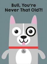 Bull Dog Greeting Card - Mint Publishing