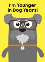 Dog Years Greeting Card - Mint Publishing