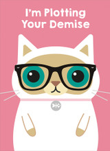 Plotting Your Demise | Greeting Card | The Wonky Tree