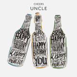 Cheers Uncle | Greeting Card | The Wonky Tree