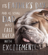 Quirky Cool Birthday card for Fathers Day Greeting Card | Pigment Productions
