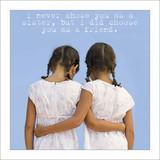 Sister & Friend Birthday Card - Icon Art