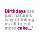 Eat More Cake | Birthday Card - Icon Art