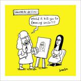 Leonard Da Vinci | History of the World | Icon Art