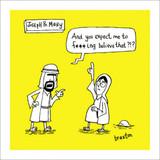 Joseph & Mary | History of the World | Icon Art
