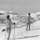 Ski Bums | Greeting Card | Icon Art