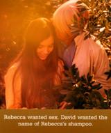 Rebecca & David | Funny Greeting Card | Icon Art