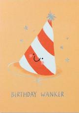 Birthday Wanker Greeting Card - Stormy Knight