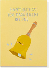 Bell End Greeting Card - Stormy Knight