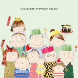 Together Again Funny Christmas Card - Rosie Made a Thing