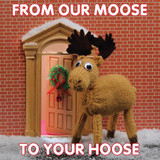 From our Moose to your Moose | Christmas Card - Mint Publishing