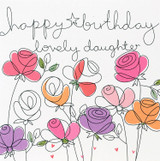 Lovely Daughter Greeting Card | Belly Button Design