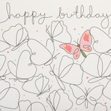 Butterfly Greeting Card   Belly Button Design