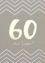 60th Birthday Card - Stormy Knight