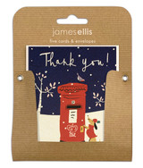 Thank You  Mini Christmas Card Packs - James Ellis