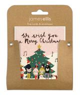 We Wish You A Merry Christmas Mini Christmas Card Packs - James Ellis