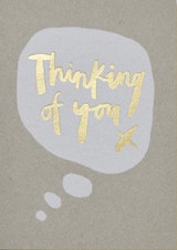 Thinking of you Greeting Card - Stormy Knight