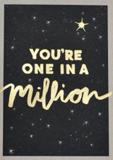 ONe in a Million Greeting Card - Stormy Knight