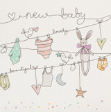 A New Baby Greeting Card | Belly Button Designs