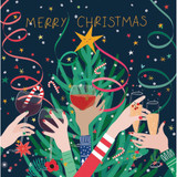 Christmas Cheer Charity Card Pack - Belly Button Design