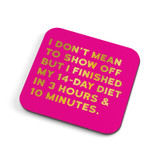 14 Day Diet   Coaster   Redback Cards