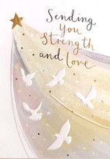 Strength & Love | Sympathy Card - Louise Tiler