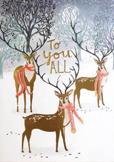 To You All at Christmas Card - Louise Tiler