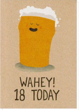 Wahey! - Greeting Card - Stormy Knight