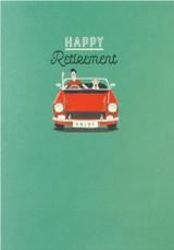 Happy Retirement  Card - Laura Darrington