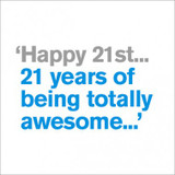 21 Totally Awesome