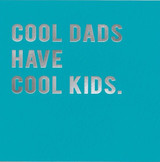 Cool Dads   Greeting Card  Redback Cards