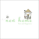Hand Finished New Home Card