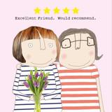 5 Star Friend Birthday Card - Rosie Made a Thing