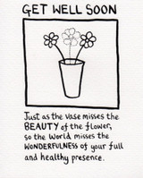 Beauty of the flower edward monkton greeting card