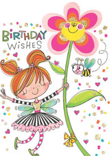 Birthday Fairy Birthday Cards Kids - Rachel Ellen