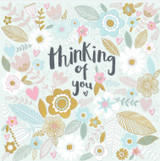 Thinking of you Floral Greeting Cards - Rachel Ellen