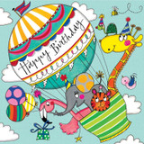 Animals JIGSAW Birthday Cards Kids - Rachel Ellen