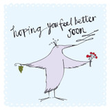 Feeling Better Greeting Card - The Paper Bird Company