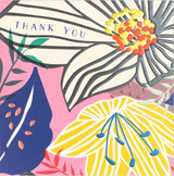 Thank You Flowers Card - Laura Darrington