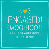 Engaged Woo Hoo  Greeting Card Happy Jackson - Pigment Productions