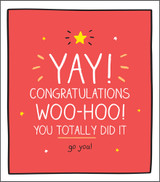 Congratulations  Greeting Card Happy Jackson - Pigment Productions