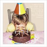 Birthday Cake Face