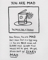 You are mad edward monkton greeting cards