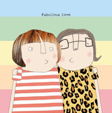 Fabulous Love Greeting Card - Rosie Made a Thing