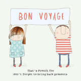 Bring Back Presents Bon Voyage card  - Rosie Made a Thing
