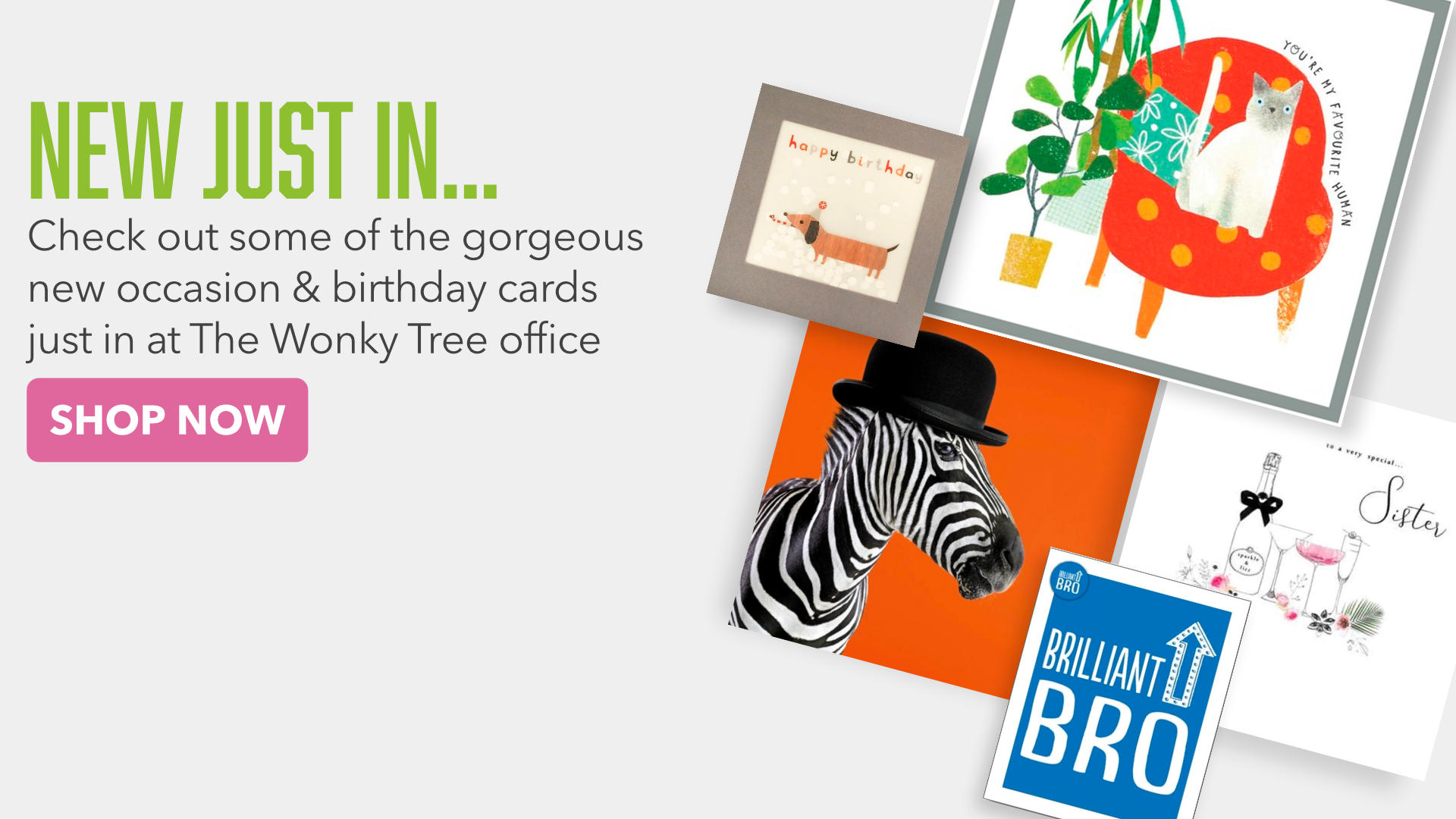 New Cool and Quirky Birthday Cards for all ages