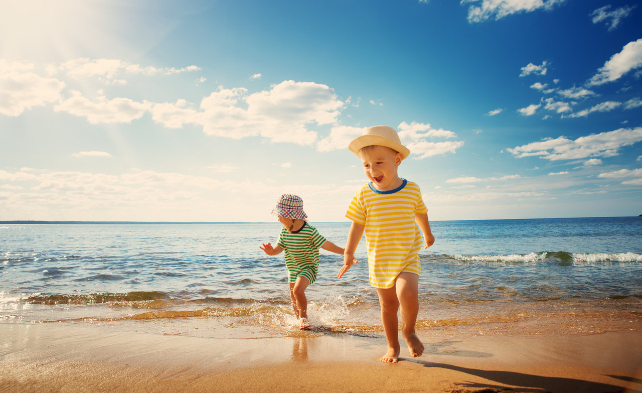 How to protect your family from sun damage on your daily walk or run!