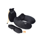 Light Travel Pillow and Eye Cover