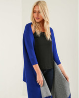 Ladies' Reversible Travel Wrap/Cape with Sleeves - One Size
