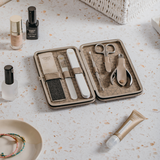 Margaret Dabbs Manicure  and Pedicure Set in Leather Case
